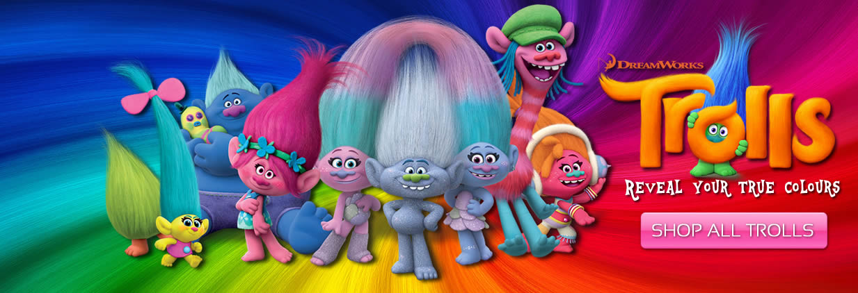 Trolls Movie Merchandise